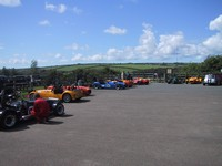Westfield section of paddock at Llys y Fran - mine's at far right (click for larger image)