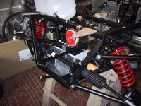 Steering Rack and battery now fitted (click for larger image)