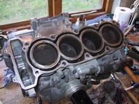 Engine with head removed (click for larger image)