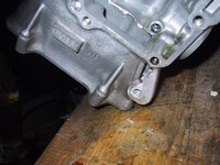 New mounting lug (bottom right of picture) (click for larger image)