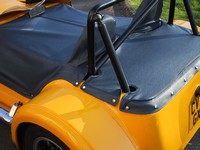 Tonneau fitting round RAC roll bar passenger side (click for larger image)